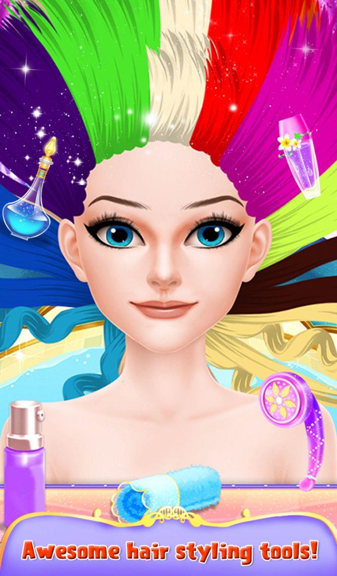 Summer Wedding Hairstyle & Spa