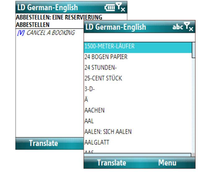 LingvoSoft Dictionary Deutsch-Englisch