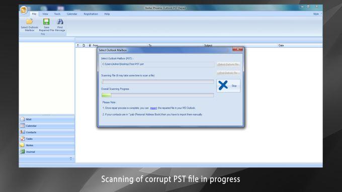 Stellar Phoenix Outlook PST Repair - Technician