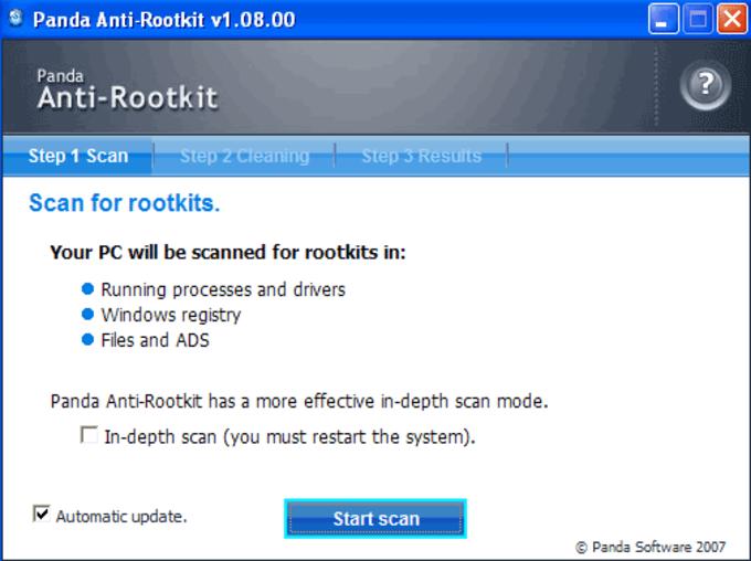 Panda Anti-Rootkit