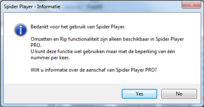 Spider Player