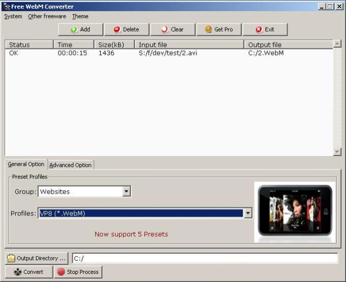 Free WebM Converter