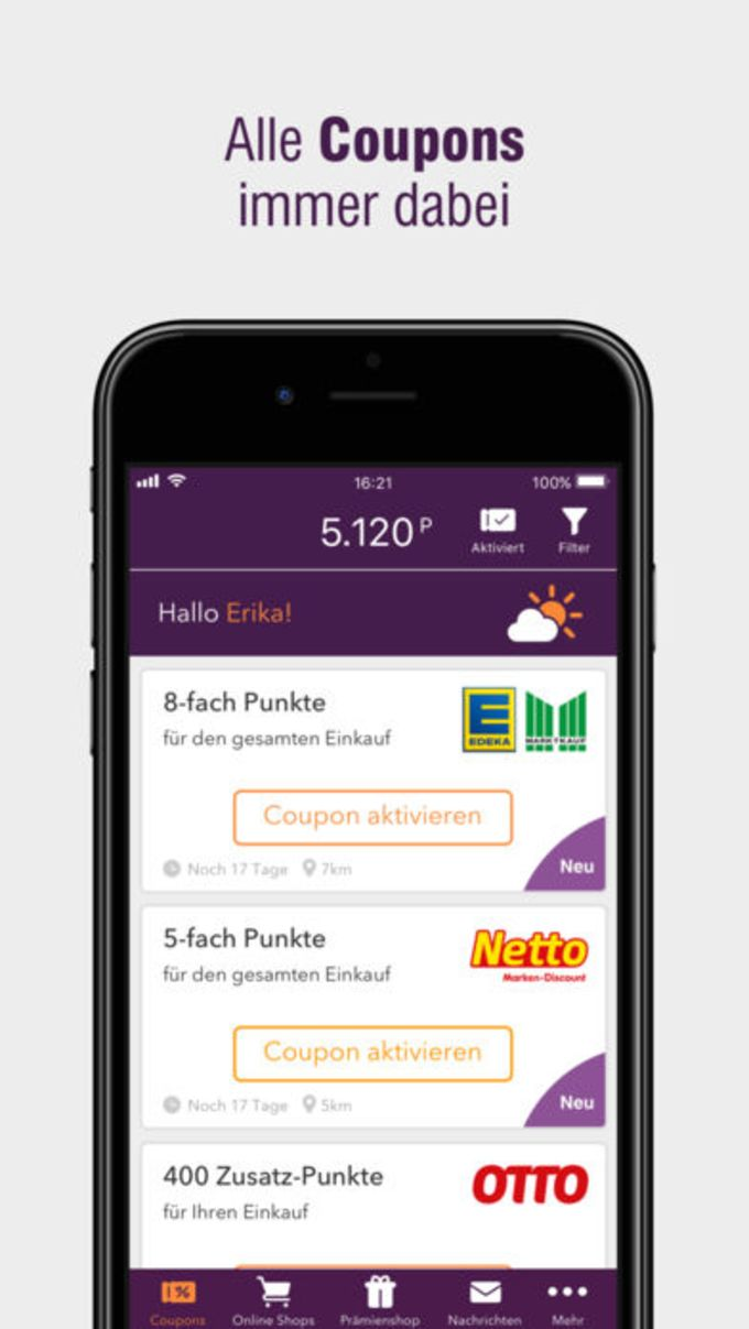 DeutschlandCard App
