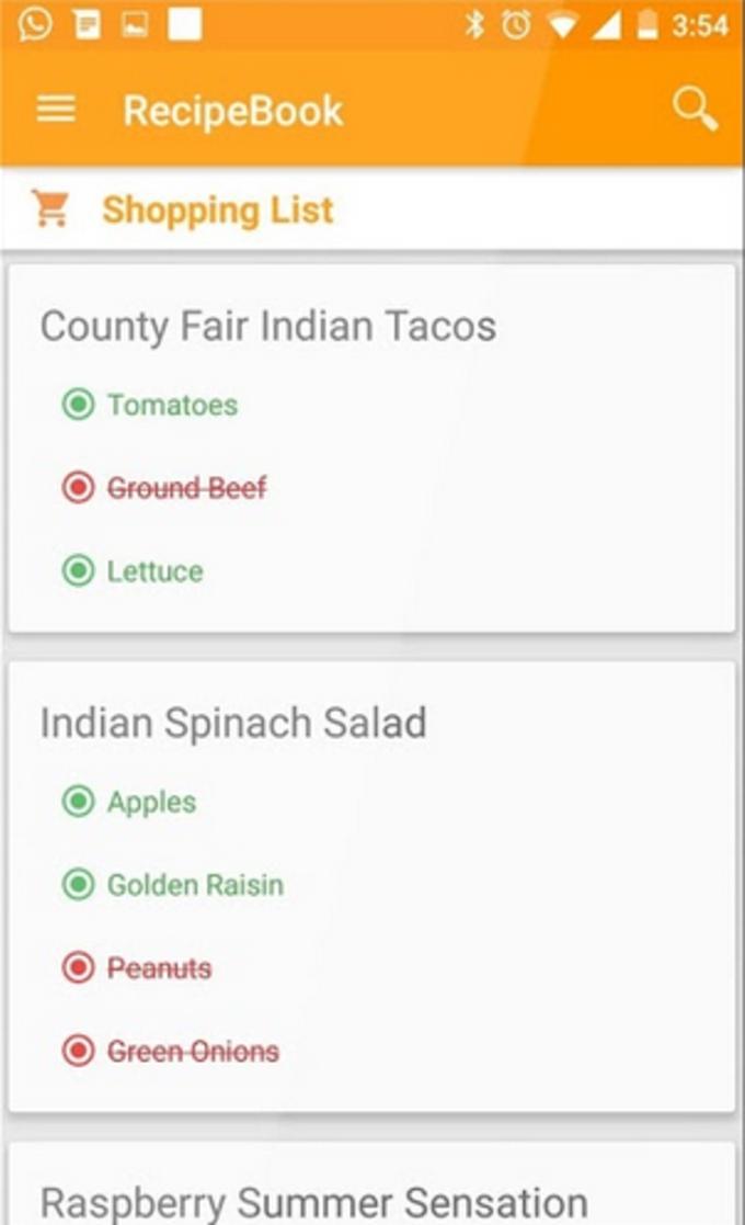 American Recipes Free