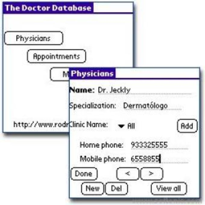 The Doctor Database