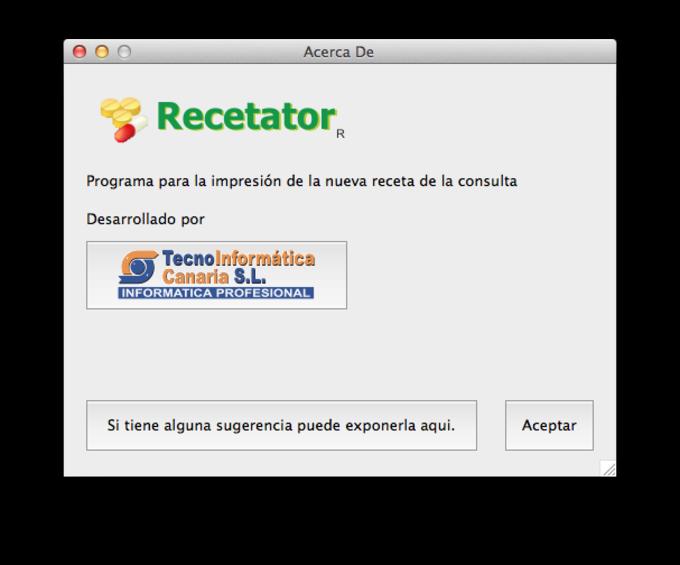 Recetator para Mac