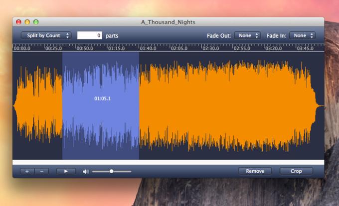 MP3 Splitter for Mac