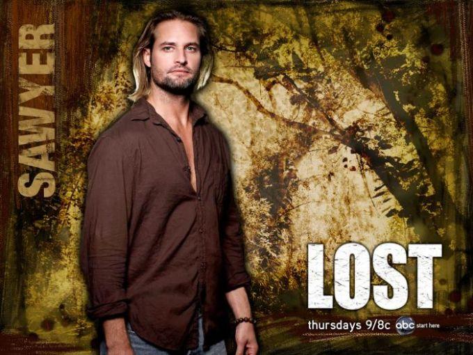 Fond d'écran Lost - Sawyer