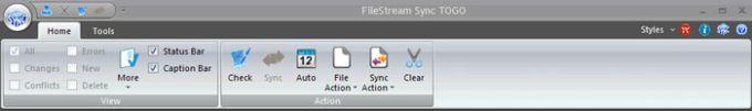 FileStream Sync TOGO