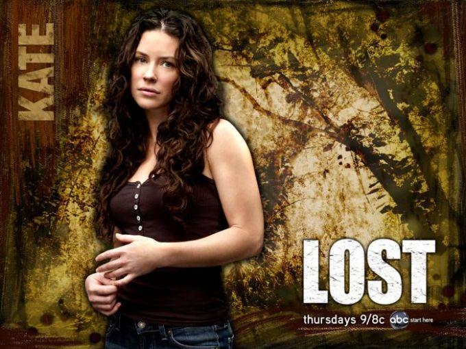 Fond d'écran Lost - Kate