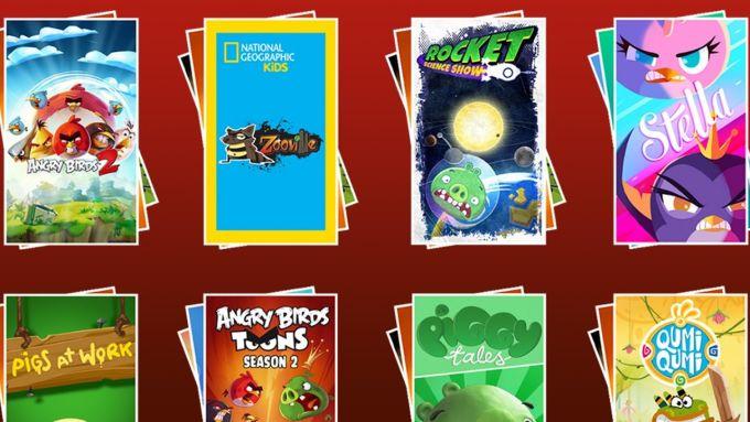 ToonsTV: Angry Birds video app