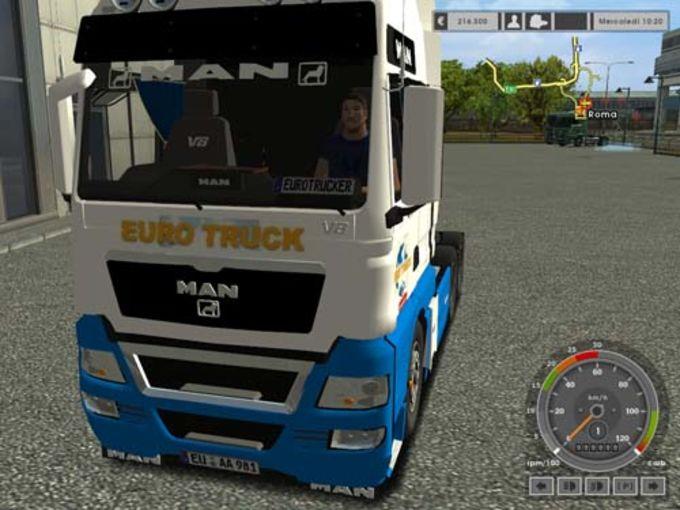 Euro Truck Simulator Man TGX 33.680