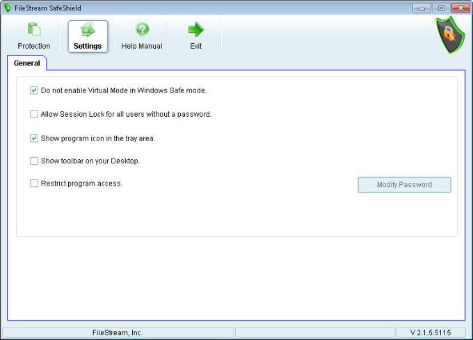 FileStream SafeShield