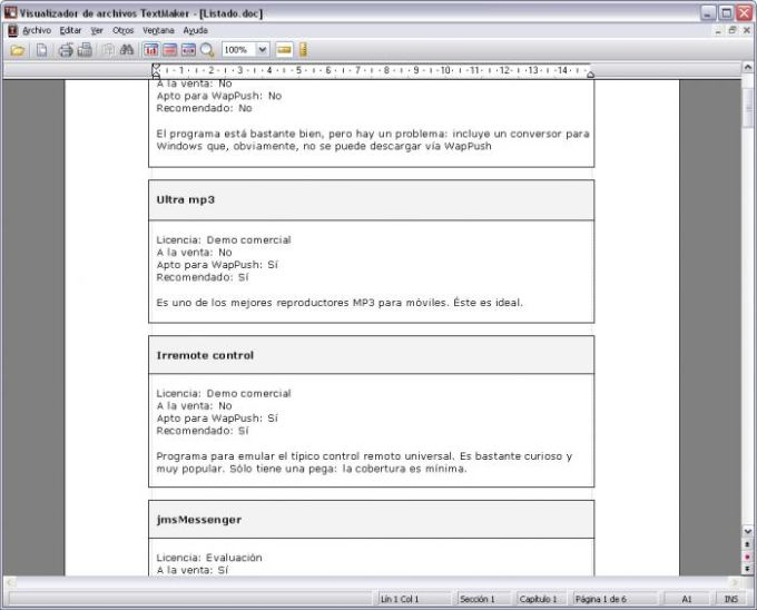 TextMaker Viewer