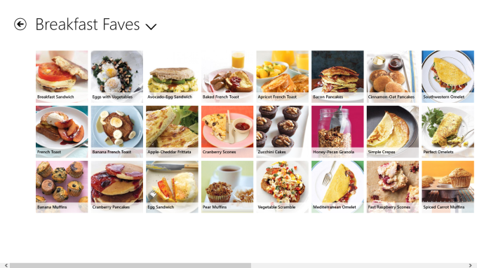 Everyday Food for Windows 10