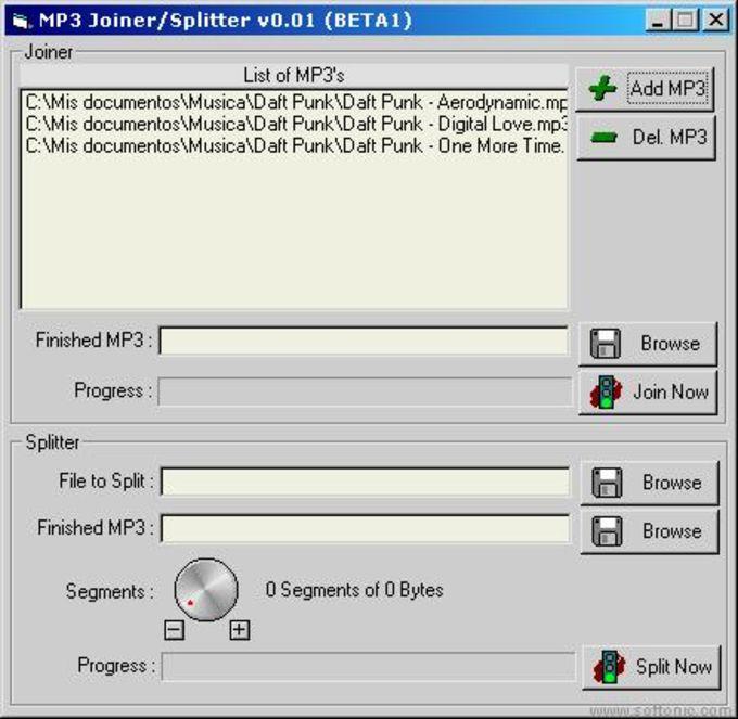 MP3 Splitter/Joiner