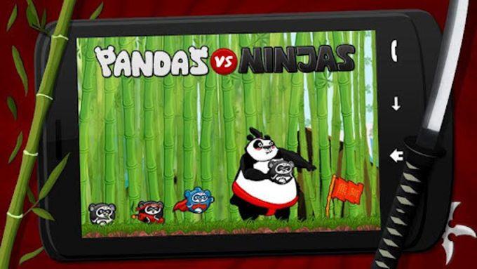 Pandas vs Ninjas