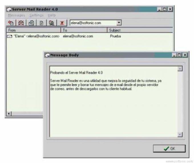 Server Mail Reader