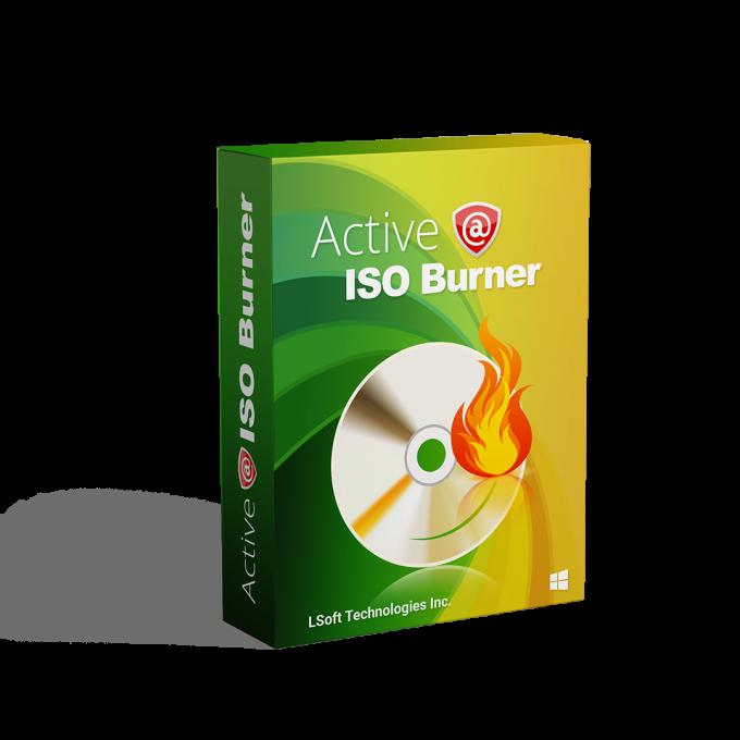Active@ ISO Burner