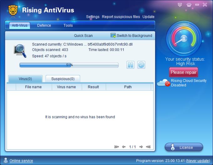 Rising Antivirus
