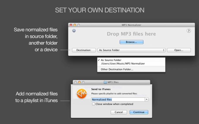 MP3 Normalizer for MAC