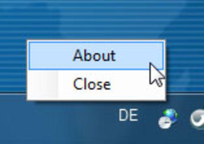 Windows 8 Desktop Clock