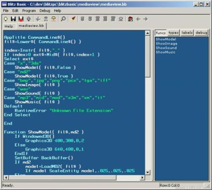 Blitz Basic 2D Demo