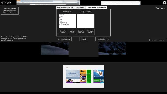 Emcee for Windows 10