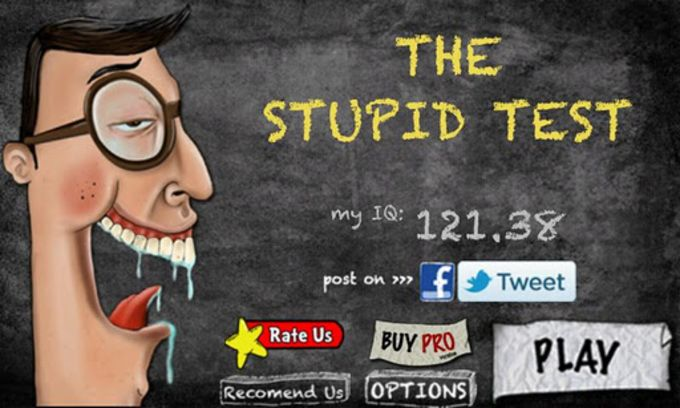 The Stupid Test