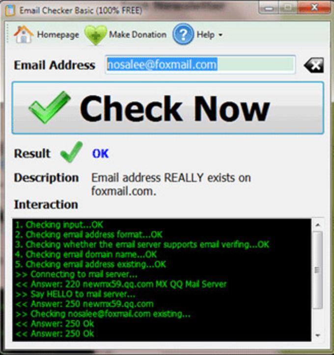 Email Checker Basic