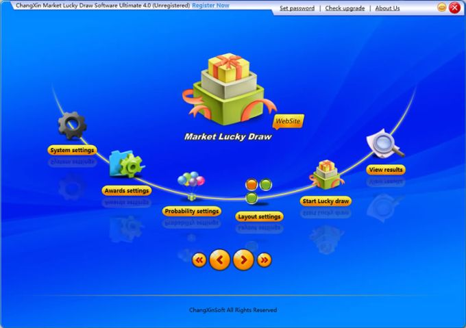 ChangXin market lucky draw software Ultimate