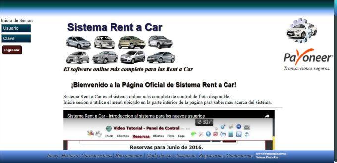 Sistema Rent a Car
