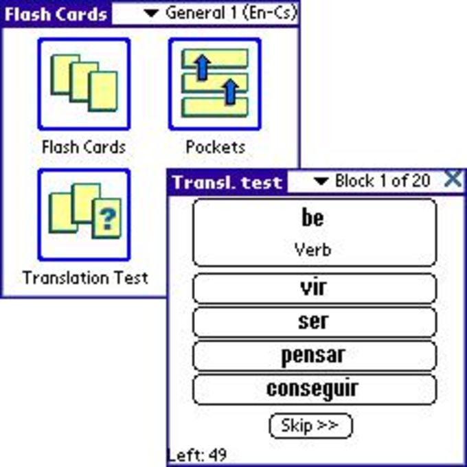 LingvoSoft FlashCards Englisch/Portugiesisch