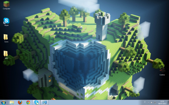 Minecraft Windows Theme
