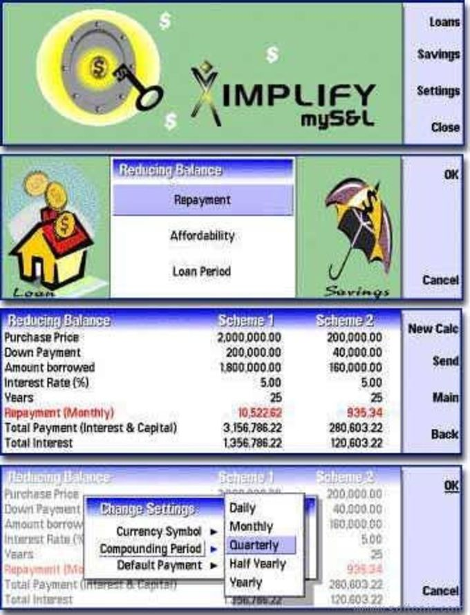 Ximplify myS&L