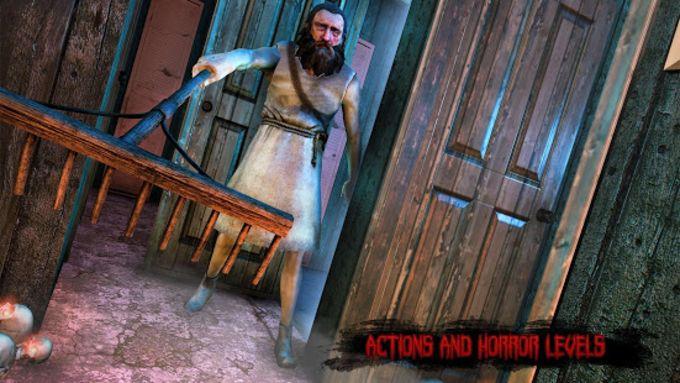 Haunted Grandpa House Horror survival Escape Games