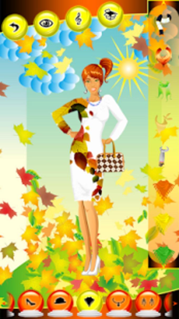 vestido de la manera del otoño