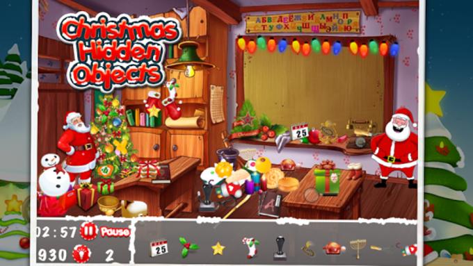 Ocultos Objetos de la Navidad