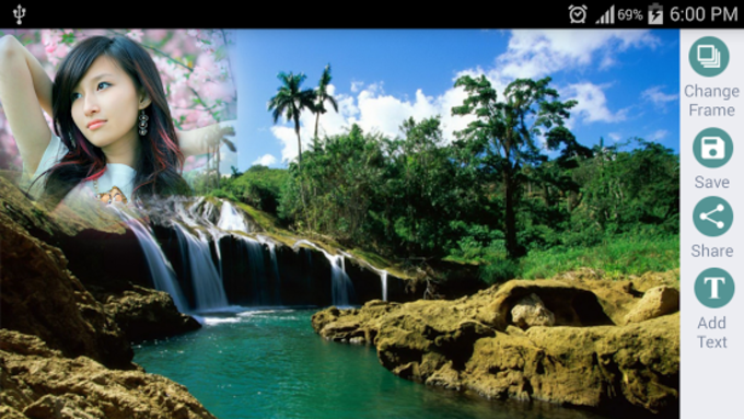 Waterfall Photo Frames HD