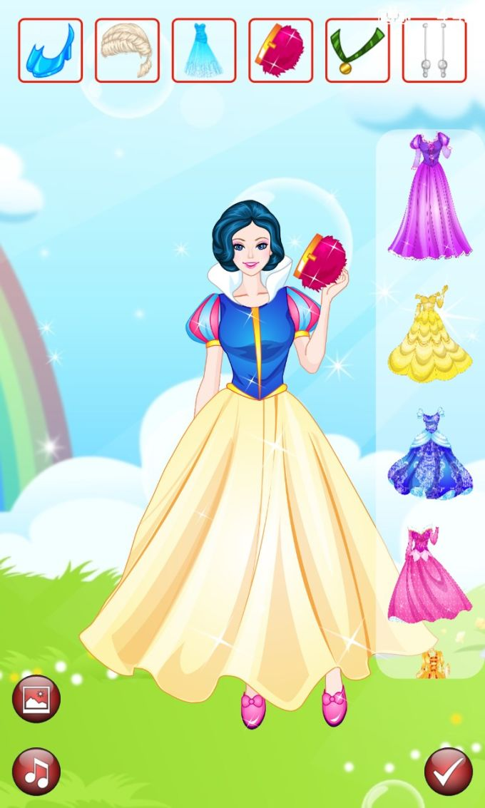 Dress Up: Disney Gown