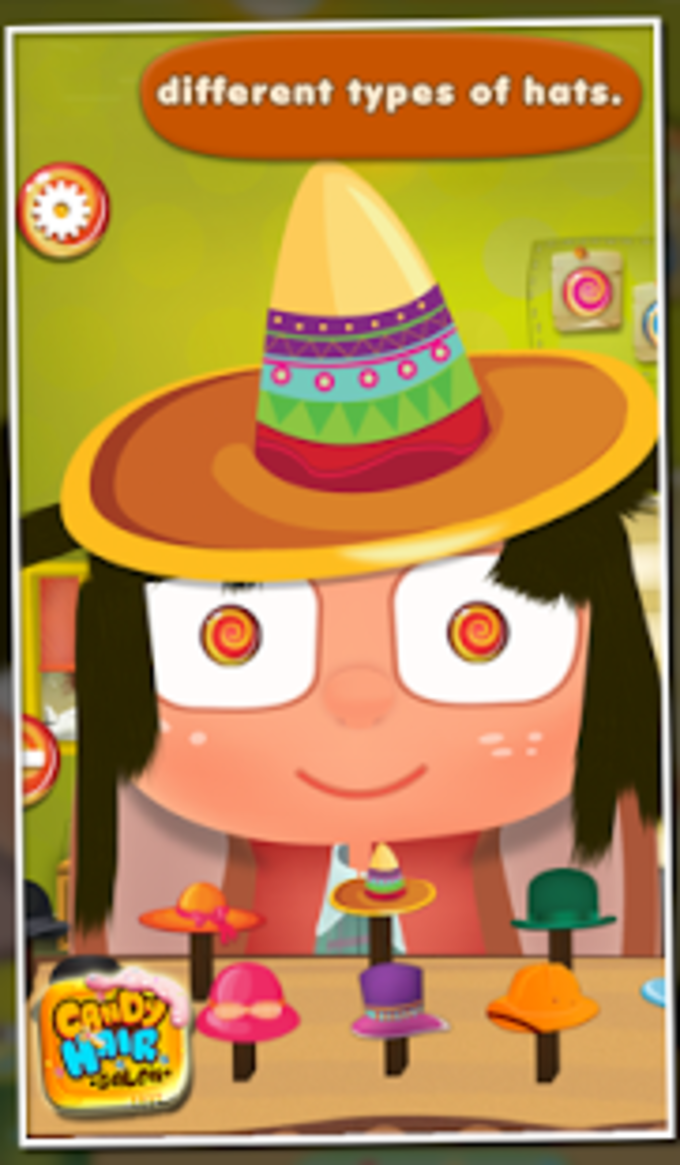 Candy Hair Salon - Kids Game