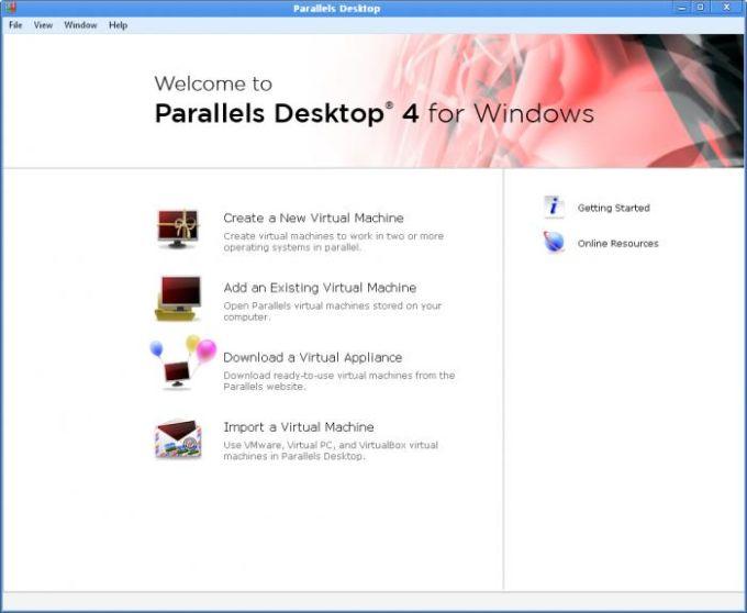 Parallels Desktop for Windows