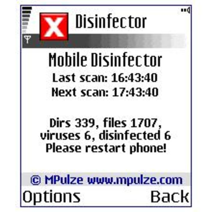 Mobile Disinfector