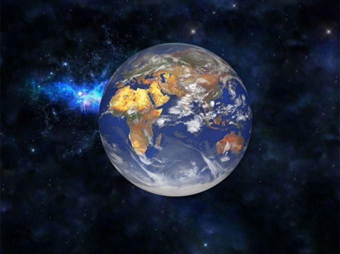 Fond d'écran Animé Terre