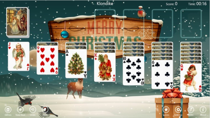 Christmas Time Solitaire