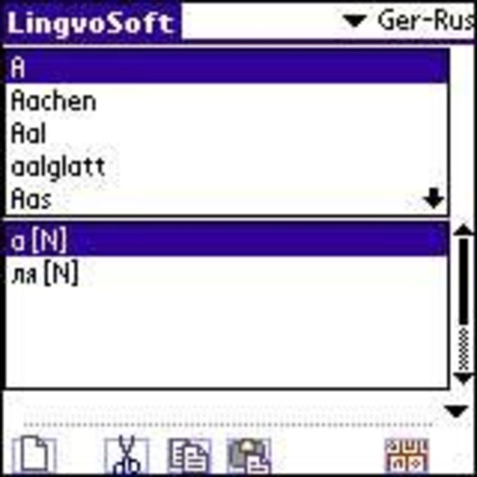 LingvoSoft Dictionary 2006 Deutsch-Russisch
