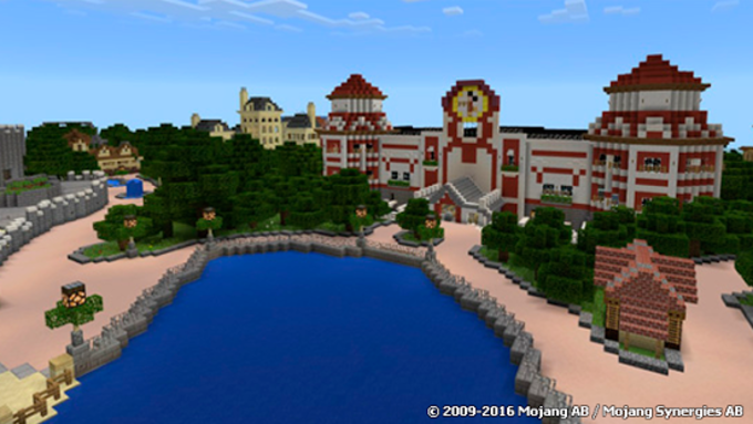 Theme Park map for Minecraft