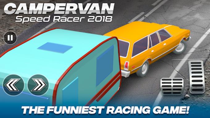 Camper Van Race Driving Simulator