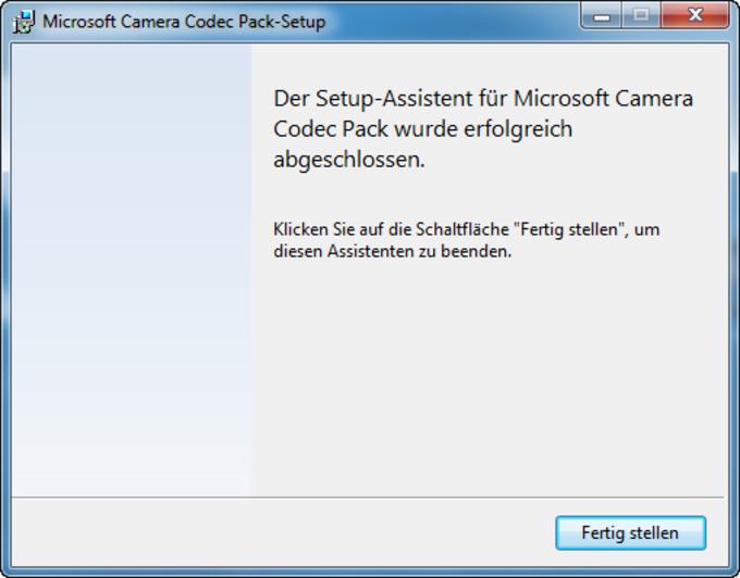 Microsoft-Kamera-Codec-Paket