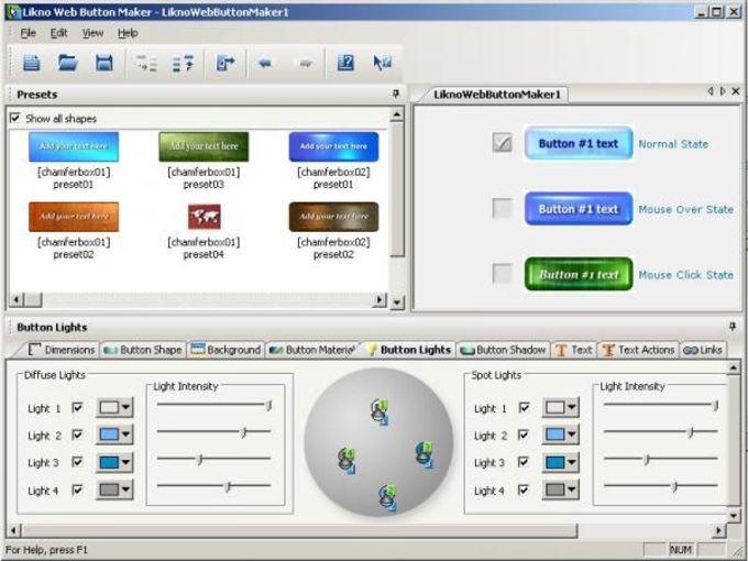 Likno Web Button Maker